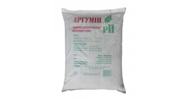 Аргумин - раскислитель почвы