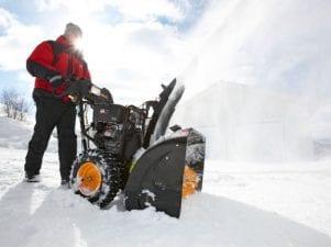 Снегоуборщик на аккумуляторе