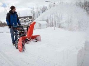 Снегоуборщик российского производства